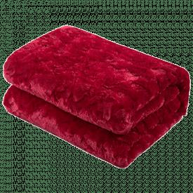 DaDa Bedding Sherpa Fleece Throw Blanket