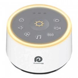 Dreamegg D1 White Noise Sound Machine with Baby Night Light