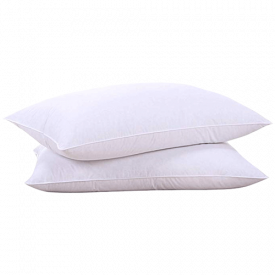 puredown Natural Goose Down Feather White Pillow Inserts
