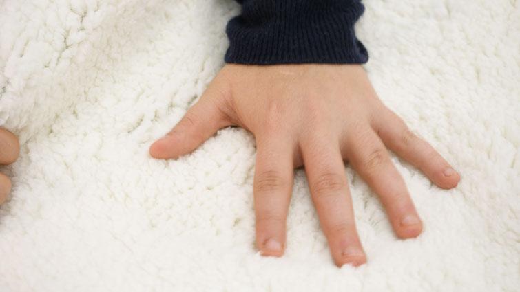 Helix Weighted Blanket fleece