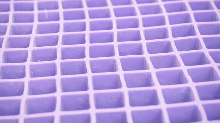 Hyper Elastic Polymer Purple Mattress