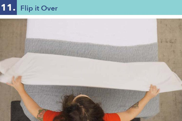 How to fold a fitted sheet-step eleven