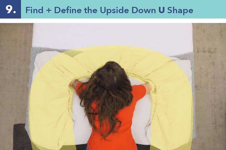 fitted sheet step 9