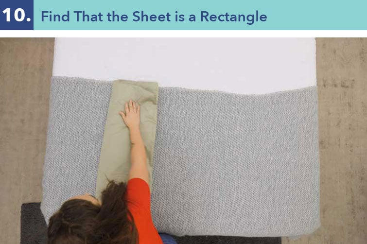How to fold a fitted sheet-ten