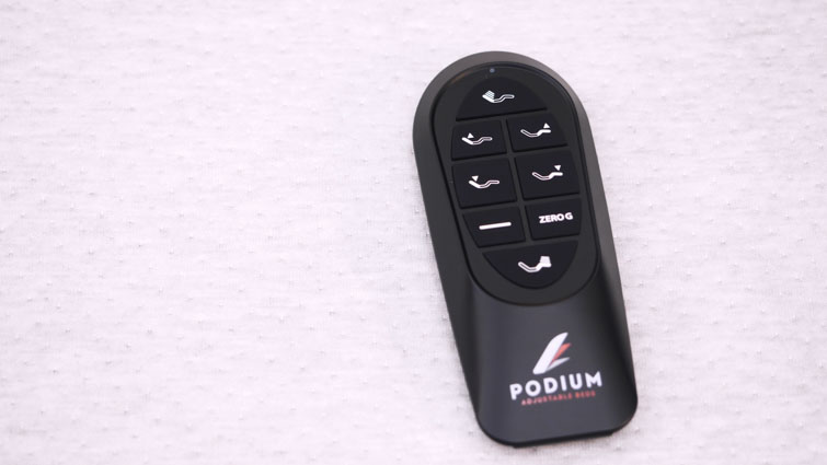 Podium Adjustable Base remote