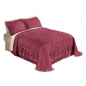 Collections Etc. Elegant Victoria Plus Chenille Bedspread