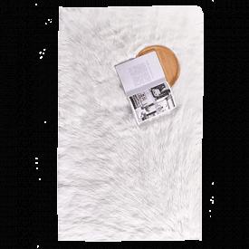 Ashler Soft Faux Fur Rug