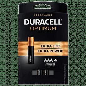 Duracell Optimum 1.5V Alkaline AAA Batteries