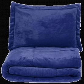 AmazonBasics Ultra-Soft Micromink Sherpa Comforter Set