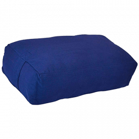 YogaAccessories Rectangular Cotton Bolster