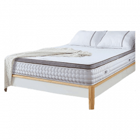 """RUUF Active Cooling 4"""" Memory Foam Mattress Topper"""
