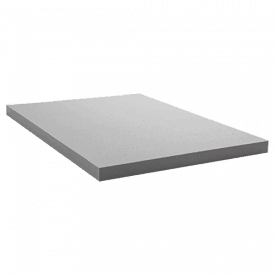 "Lucid 4"" Bamboo Charcoal Memory Foam Mattress Topper"