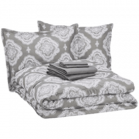 AmazonBasics 8-Piece Comforter Bedding Set