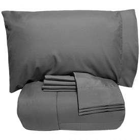 Sweet Home Collection 7 Piece Bed-In-A-Bag