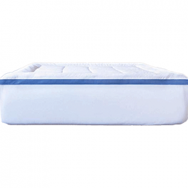 ViscoSoft Pillow Top Latex Mattress Topper