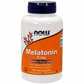 NOW Supplements 5mg Melatonin Tablets