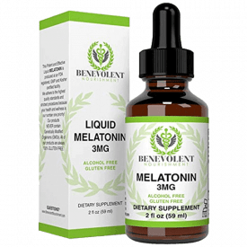 Benevolent 3mg Natural Melatonin Liquid