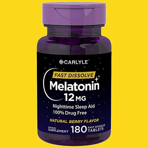Carlyle Fast Dissolve 12mg Melatonin
