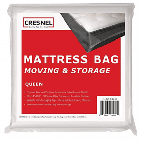CRESNEL Mattress Bag for Moving & Long-Term Storage
