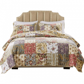 Greenland Home Cotton Patchwork Quilt Set