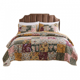 Greenland Home Antique Patchwork Quilt Set