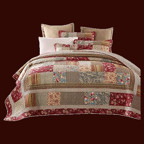 Tache Patchwork Quilt Bedspread Set