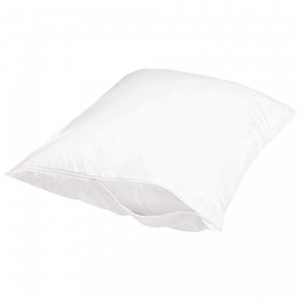 AmazonBasics Hypoallergenic Protector Pillow Case