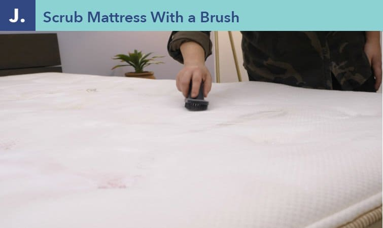 How to clean a mattress-step eight