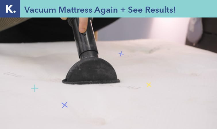 How to clean a mattress-step nine