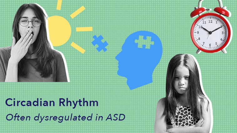 Circadian Rhythm is often dysregulated with ASD