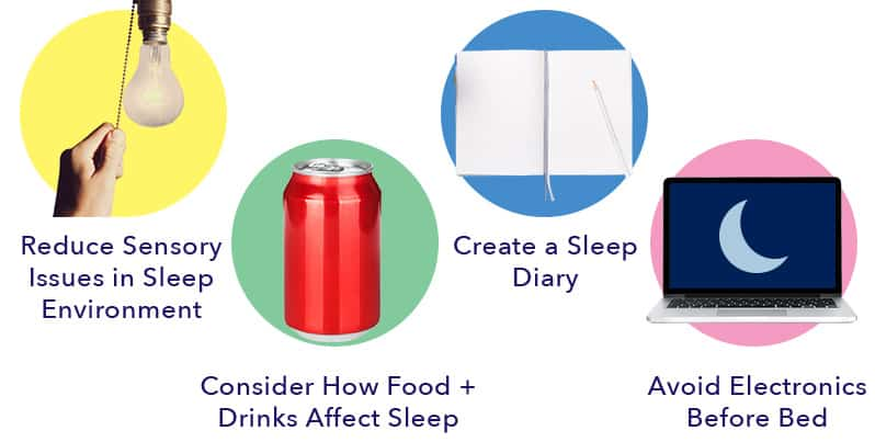 Tips for better sleep with ASD
