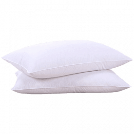 puredown Natural Goose Feather White Pillow Inserts