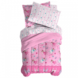 Dream Factory Magical Princess Comforter Set