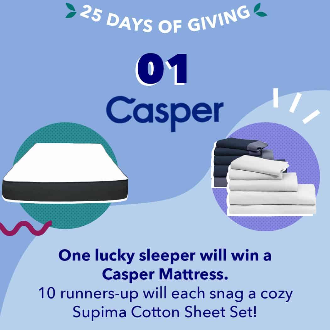 25 Days Casper 2019