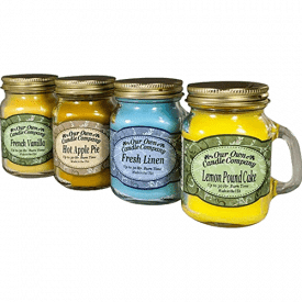 Our Own Candle Company 4 Pack Mini Mason Jar Candles