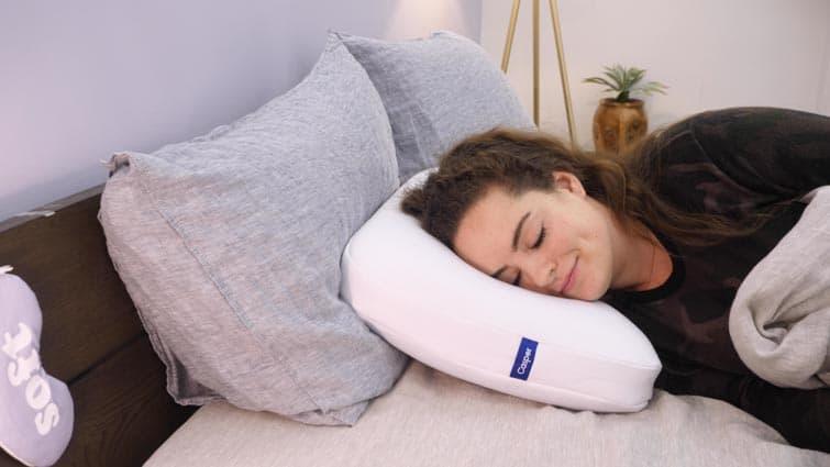 Casper Foam Pillow Side Sleeping