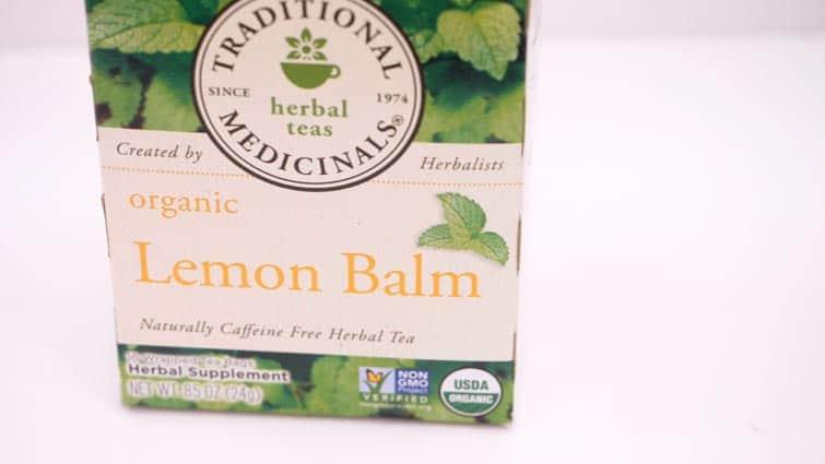 Lemon Balm Tea Sleep Aid