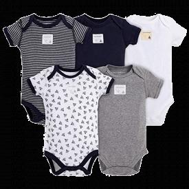 Burt's Bees Baby Unisex Baby Bodysuits