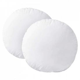 HOMEIDEAS Plush Round Throw Pillow Inserts