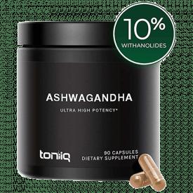 Toniiq Ultra High Strength Ashwagandha Capsules