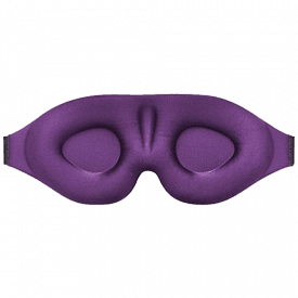 MZOO Sleep Mask with 3D Contoured Cup
