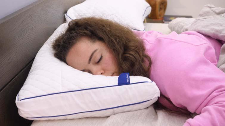 Nectar Pillow Stomach Sleeping