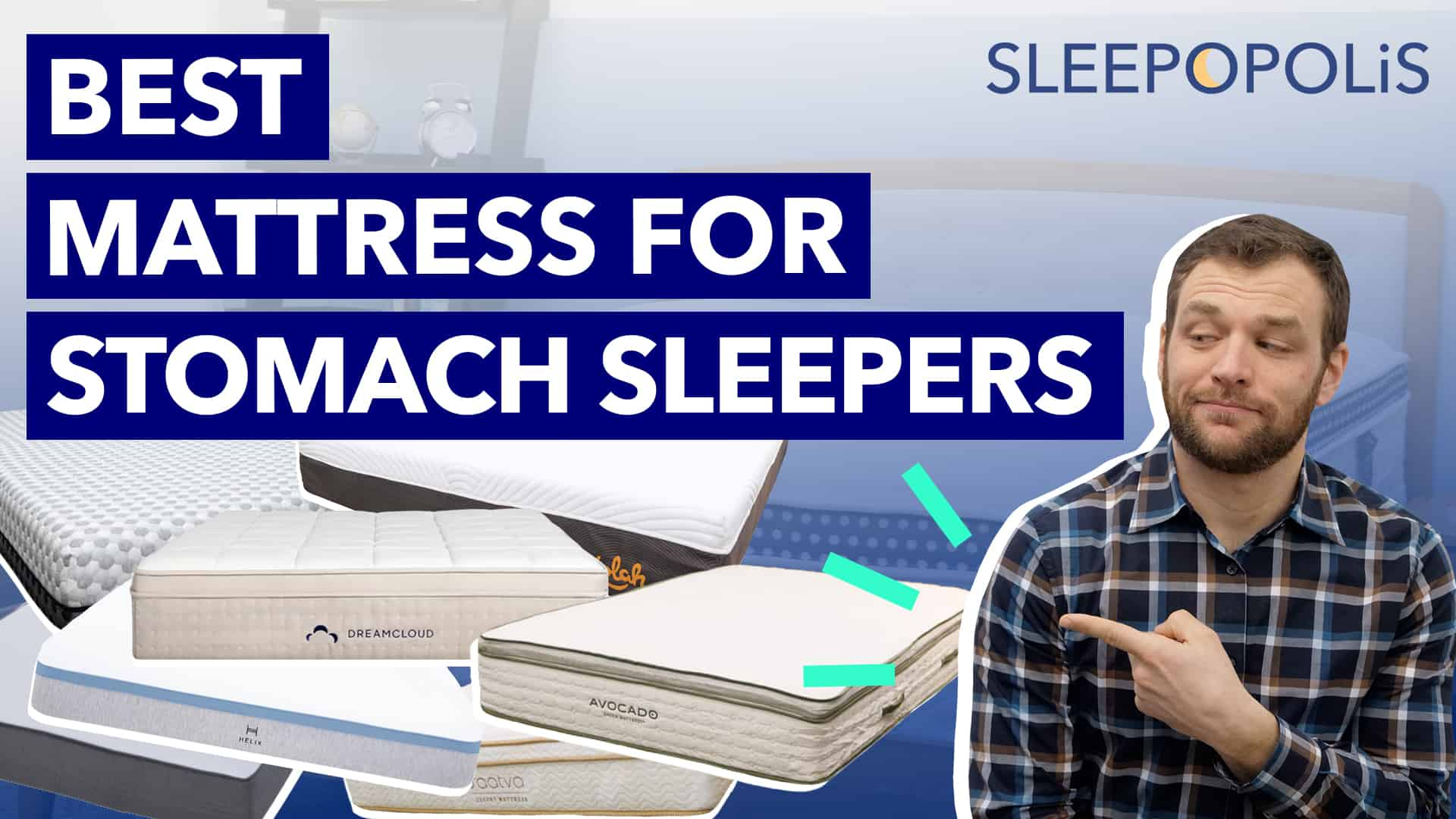 Best Mattress For Stomach Sleepers 2020 Sleepopolis