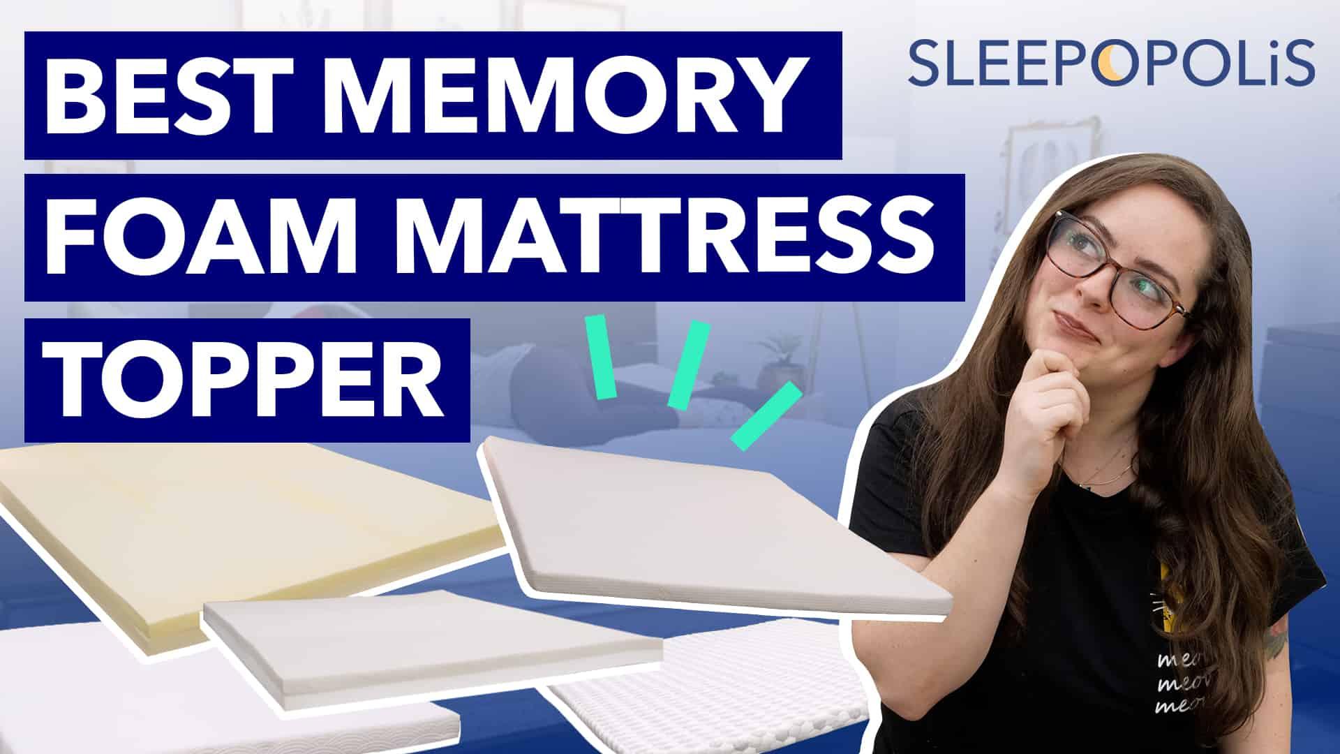 Best Memory Foam Mattress Toppers Sleepopolis
