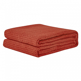 PHF Cotton Waffle Weave Bed Blanket