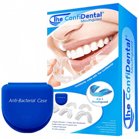 The ConfiDental Pack of 5 Moldable Mouthguards