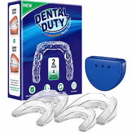 Dental Duty Set of 4 Professional Mouthguards