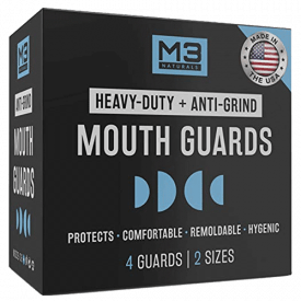 M3 Naturals Heavy Duty Mouthguards