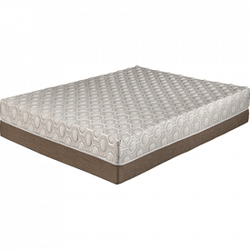 "Dahlia 11"" Bamboo Charcoal Memory Foam Mattress"