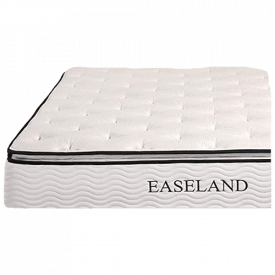 EASELAND Bamboo Pillow Top and Innerspring Hybrid 12